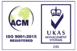 ACM ISO 9001:2015 registered logo