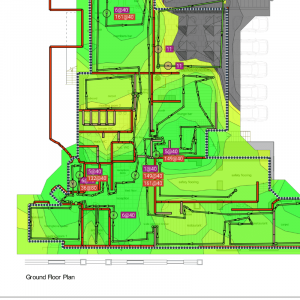 guest wifi installation heat map
