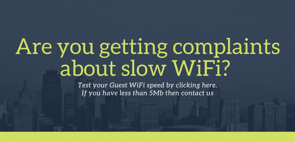 Image which links to speedtest website so you can test your WiFi speed.get in touch with G5 Technologies if you have less than 5mb. We are an internet service provider in Scotland